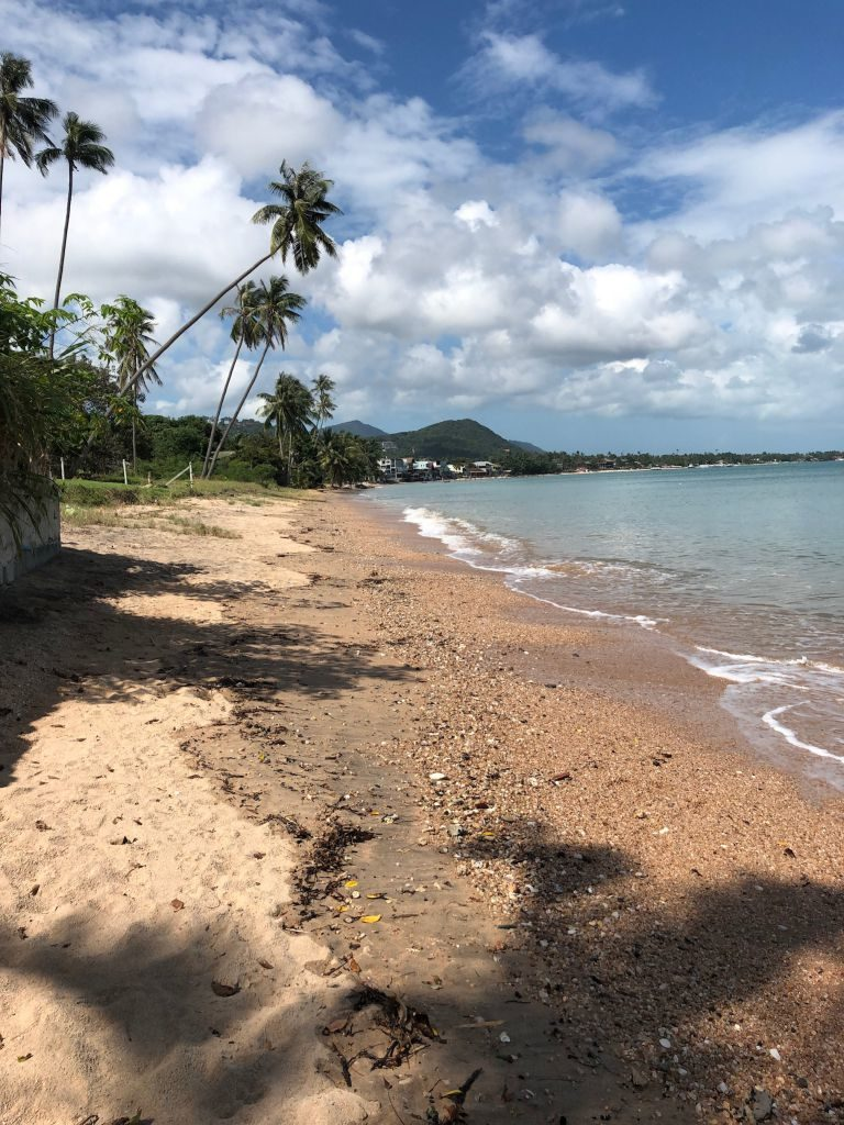 koh samui beach outside touristy area