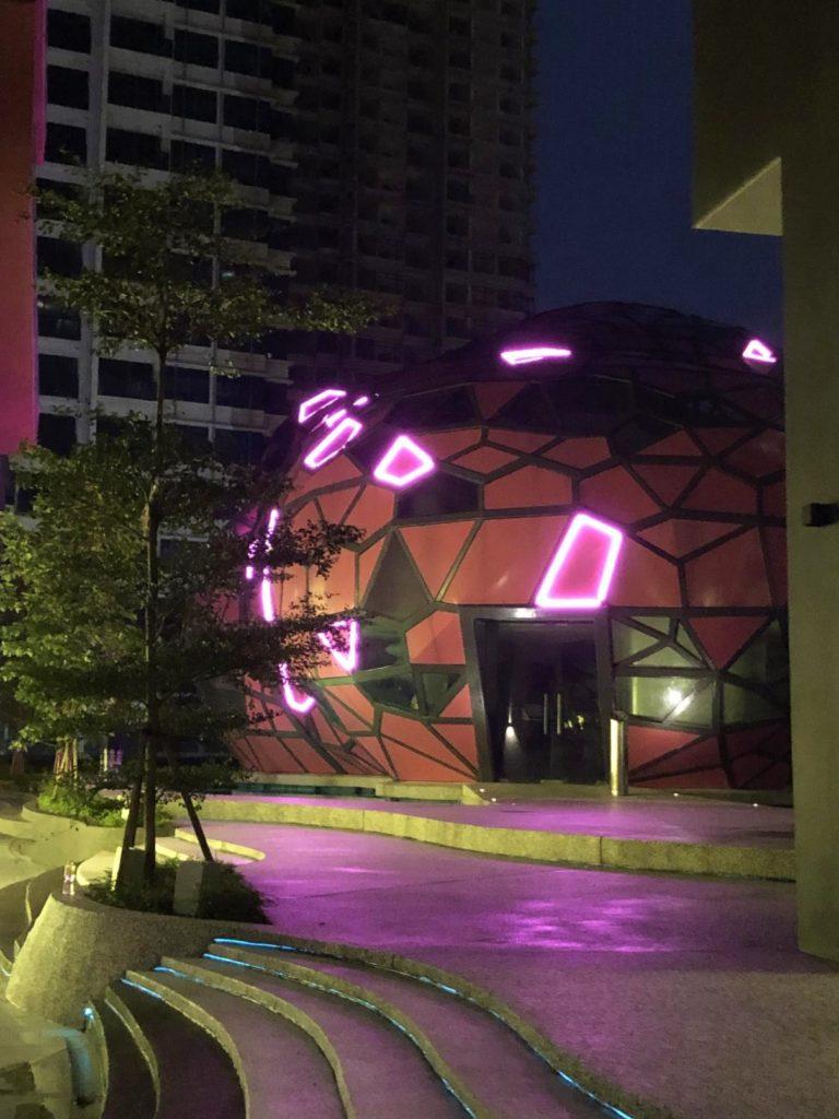 arte plus cloud at night