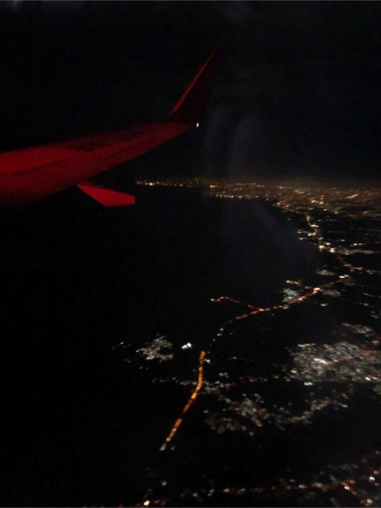 bali night airview