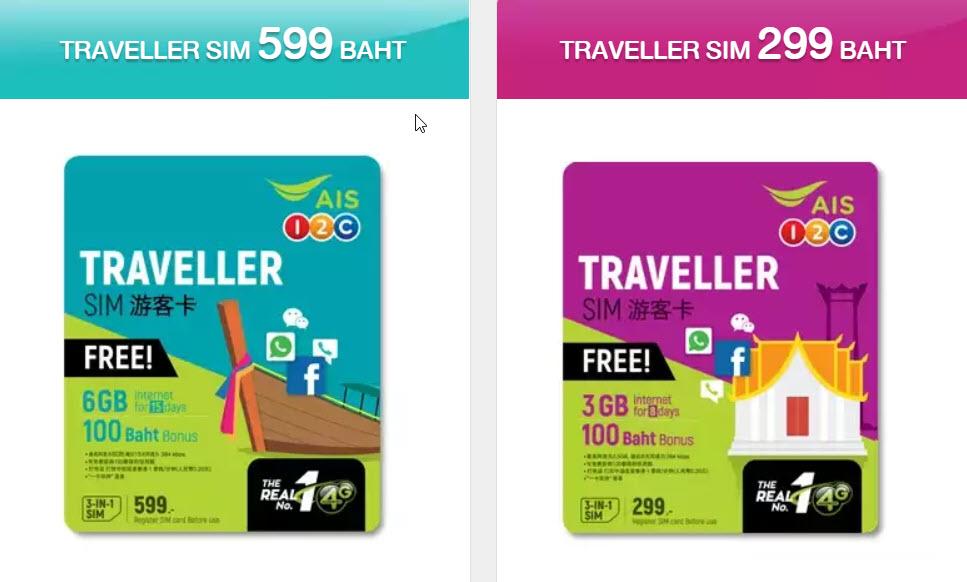 thai traveller sim